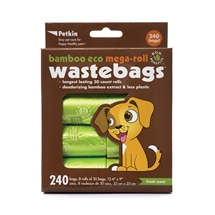 Bamboo Eco Pet Waste Bags 240pcs