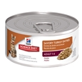 Hill's Science Diet Feline Adult Turkey Cans 156g x 24_CPS0660_0