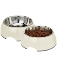Pet Bowls with Stainless Steel Inner - Set of 2_HD1131_3
