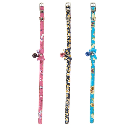 Cat Collars with Bow and Bell