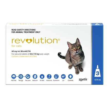 Revolution Cat 3 Pack