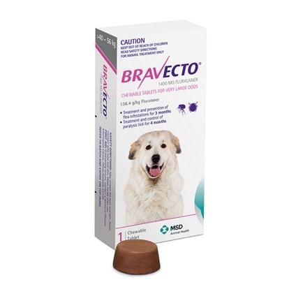 Bravecto Dog 1pk House Of Pets