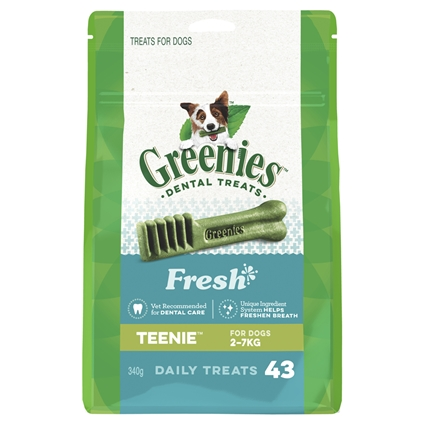 Greenies Freshmint Treat Packs 340g