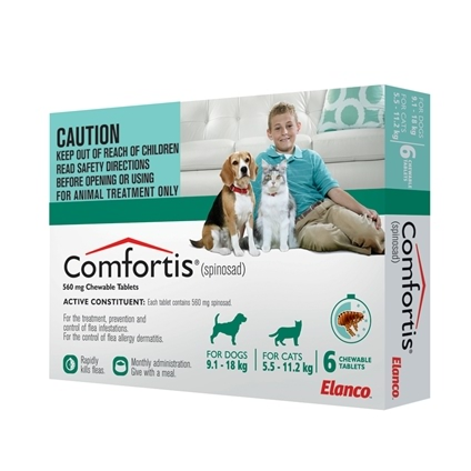 Comfortis Dog Amp Cat 6 Pack House Of Pets