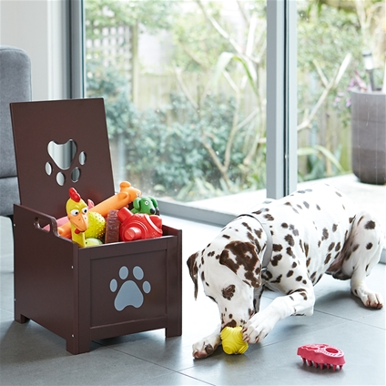 Paw Decor Pet Toy Box