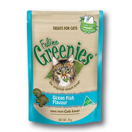 Feline Greenies Ocean Fish 85g