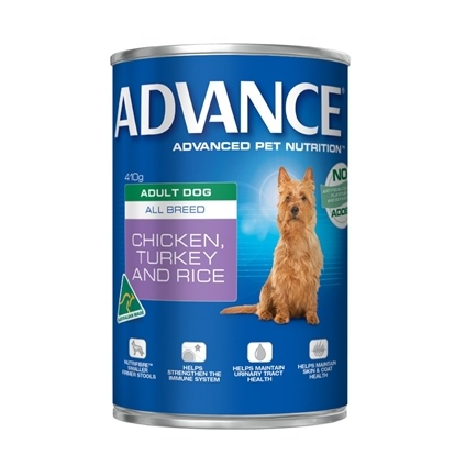 Advance Adult Chicken, Turkey & Rice Cans