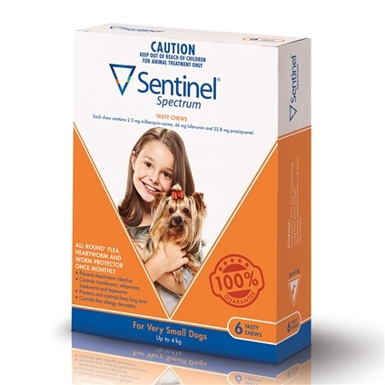 Sentinel Spectrum Dog 6 Pack