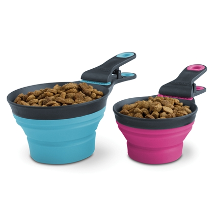 3-in-1 Collapsible Food Scoop